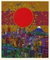 絹谷 幸二 「太陽と富士」 Koji Kinutani