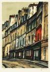 荻須 高徳 「パリの通り」 Takanori Oguiss