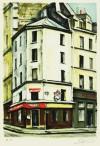 荻須 高徳 「小さなレストラン」 Takanori Oguiss