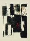 篠田 桃紅 「Wind Shadow」 Toko Shinoda