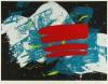 白髪 一雄 「赤い旗」 Kazuo Shiraga