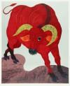 河嶋 淳司 「赤い牛」 Junji Kawashima