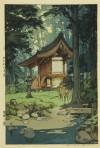 吉田 博 「深林之宮」 Hiroshi Yoshida