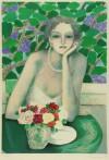 J. P. カシニョール 「庭園のバラ」 Jean-Pierre Cassigneul