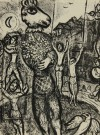 マルク・シャガール 「サーカス PL8」 Marc Chagall