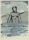 舟越 桂 「水をゆく」 Katsura Funakoshi