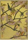 吉田 遠志 「卯月-山桜にメジロ」 Toshi Yoshida