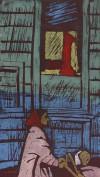 小野 忠重 「メーデーの朝 パリで」 Tadashige Ono