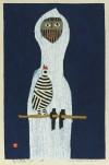 畦地 梅太郎 「鳥と道具」 Umetaro Azechi