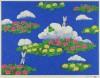 平松 礼二 「モネの池 赤蜻蛉」 Reiji Hiramatsu