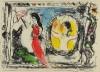 マルク・シャガール 「鏡の前の女性」 Marc Chagall
