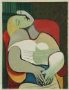 パブロ・ピカソ 「夢」 Pablo Picasso