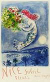 マルク・シャガール 「ニース・花・太陽」 Marc Chagall