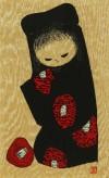 河野 薫 「少女 椿」 Kaoru Kawano