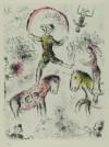 マルク・シャガール 「以心伝心 PL6」 Marc Chagall