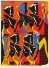 池田 満寿夫 「炎の祭り」 Masuo Ikeda