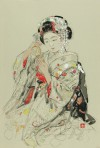 宮本 三郎 「舞妓」 Saburo Miyamoto