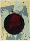 白髪 一雄 「黒の円」 Kazuo Shiraga