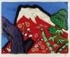 片岡 球子 「白壽の赤富士」 Tamako Kataoka