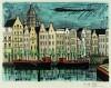 ベルナール・ビュッフェ 「シンゲル,アムステルダム」 Bernard Buffet