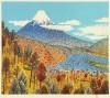 山下 清 「日本平よりの富士」 Kiyoshi Yamashita