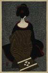 斎藤 清 「舞妓」 Kiyoshi Saito
