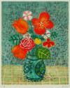 ポール・アイズピリ 「オレンジの花束」 Paul Aizpiri