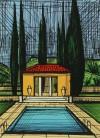 ベルナール・ビュッフェ 「ラ・ボームの庭」 Bernard Buffet