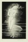 長谷川 潔 「水浴の少女と魚」 Kiyoshi Hasegawa
