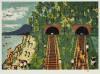 山下 清 「トンネルのある風景」 Kiyoshi Yamashita