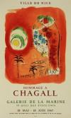 マルク・シャガール 「赤いシレーヌ」 Marc Chagall