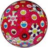 村上 隆 「フラワーボール (3D) 赤く染まれ!」 Takashi Murakami