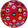 村上 隆 「フラワーボール (3D) レッド,ピンク,ブルー」 Takashi Murakami