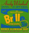 アンディ・ウォーホル 「Brillo Poster for the Pasadena Art Museum」 Andy Warhol