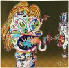 村上 隆 「Homage to Francis Bacon (Study for Head of Isabel Rawsthorne and George Dyer)」 Takashi Murakami