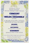 マルク・シャガール 「コンサートのためのポスター」 Marc Chagall