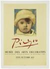 パブロ・ピカソ 「MUSEE DES ARTS DECORATIFS」 Pablo Picasso