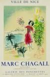 マルク・シャガール 「ニース湾」 Marc Chagall