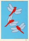 熊谷 守一 「赤蜻蛉」 Morikazu Kumagai