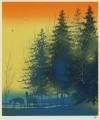 千住 博 「朝に聴く声」 Hiroshi Senju