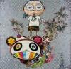 村上 隆 「パンダの親子に出会ってしまった」 Takashi Murakami