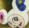 村上 隆 「白無垢のDOB(ピンクとブルー)」 Takashi Murakami