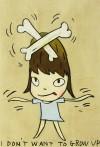 奈良 美智 「I don't want to grow up」 Yoshitomo Nara